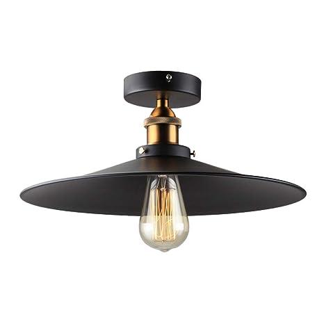 Retro Loft Lámpara de techo de diseño industrial Lámpara de ...
