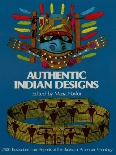 Authentic Indian Designs (Dover Pictorial Archive)