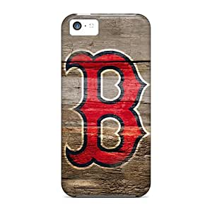 Premium CjE33EIwc Case With Scratch-resistant/ Boston Red Sox On Wood Hd Case Cover For Iphone 5c