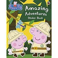 Peppa Pig Amazing Adventures Oversize Sticker Book by Genuine Peppa!