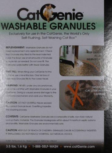 CatGenie Washable Granules, 3.5 Pounds