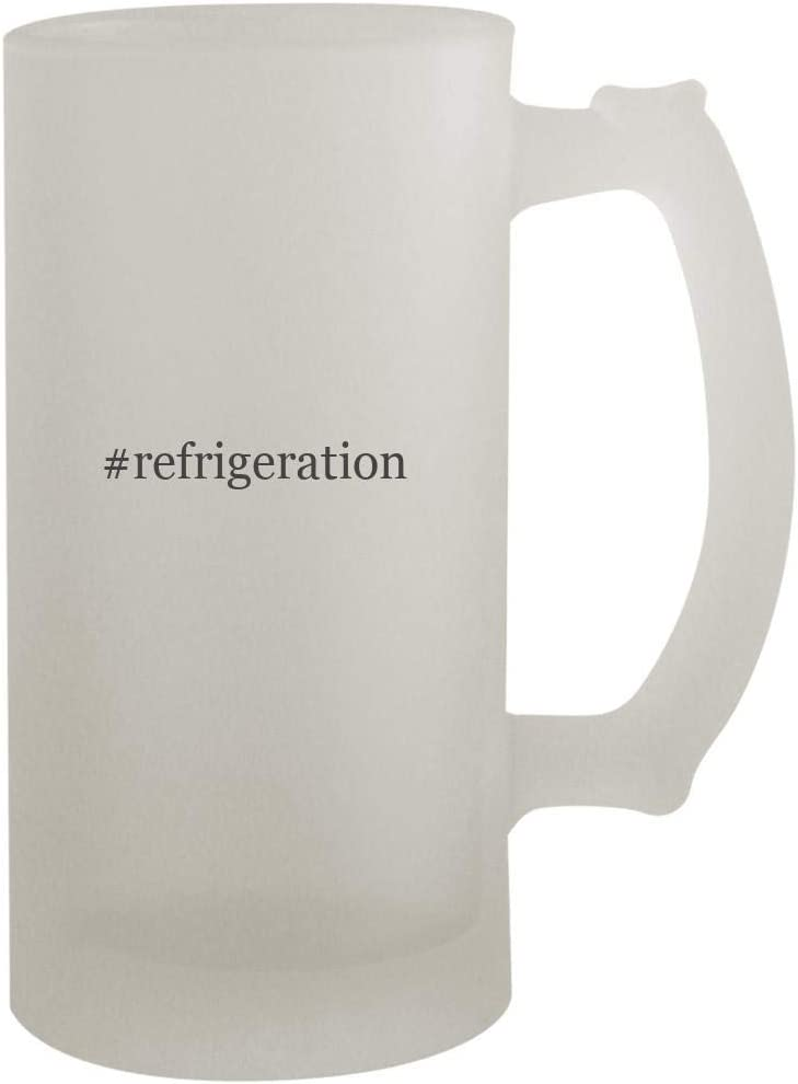 #refrigeration - 16oz Hashtag Frosted Beer Mug Stein, Frosted
