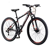 Mongoose 29'' Front and Rear Disc Brake 21 Speed Mens Torment HD Mountain Bike