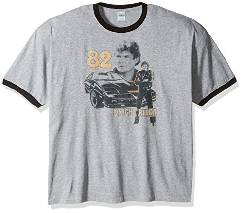 Men's 82 Knight Rider Ringer Tee - M, L, XL