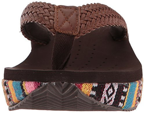 Tan Roper Sandal Flora Wedge Women's xTpZqT