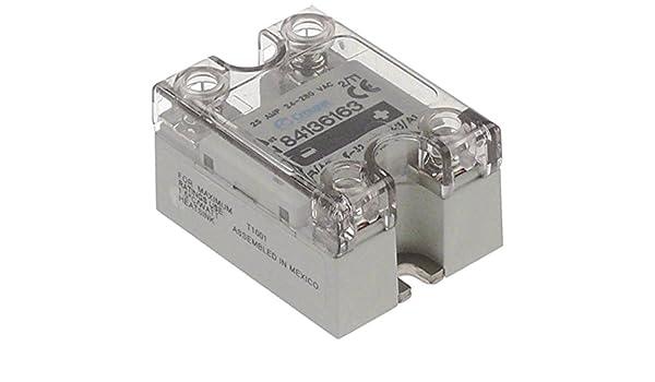 Crouzet GN 84136163 - Semiconductor de potencia para cafetera Expobar Markus, Elen, Megacrem, G-10, longitud de 58 mm, ancho de 45 mm: Amazon.es: Industria, empresas y ciencia