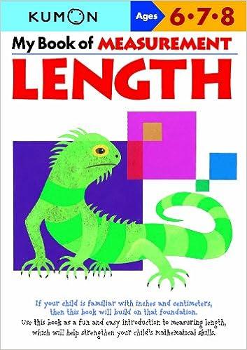 My Book of Measurement: Length (Kumon Math Workbooks): Kumon ...