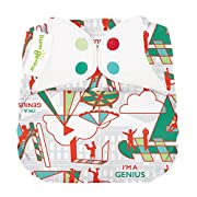 Limited Edition: bumGenius Elemental 3.0 All-in-One One-Size Cloth Diaper with Organic Cotton (Play)