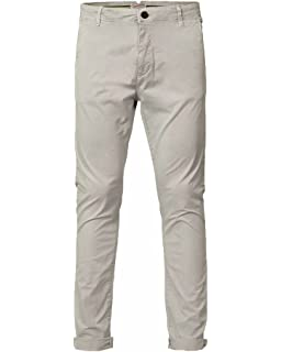 Petrol Industries - Pantalon Homme Classe avec Ceinture TRO582 Navy ... ed804407e0f