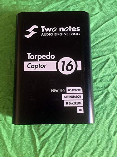 Two Notes Torpedo Captor Reactive Loadbox DI and Attenuator - 16 Ohm