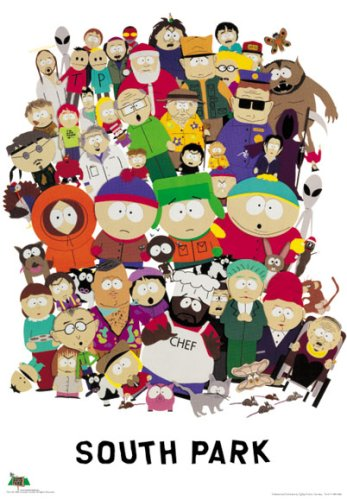 South Park - TV Show Poster: All Characters (Size: 27'' x 40'')