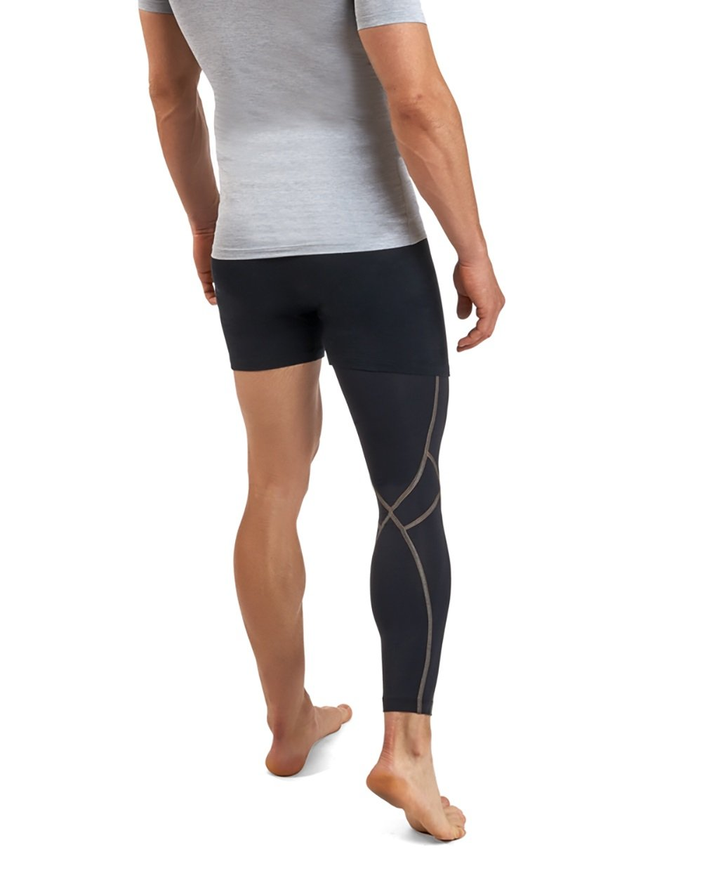 Tommie Copper Men's Performance Full Leg Sleeves 2.0, Small, Black by Tommie Copper (Image #3)