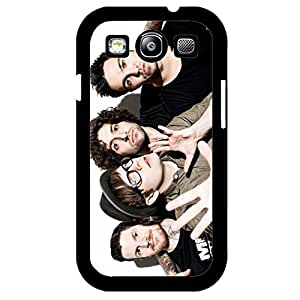 Exclusive Fall out boy Phone Case TPU PC Hard Samsung Galaxy S3 I9300 Phone Cover Hipster Print Rock Band Protective skin