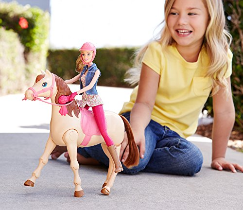 Barbie Saddle N Ride Horse