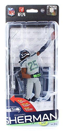 McFarlane Toys NFL Seattle Seahawks Sports Picks Series 36 Richard Sherman Action Figure [Gray Uniform]