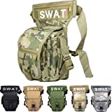HuaYang Multifunction SWAT Drop Leg Utility Waist Pouch Carrier Belt Bag Pack Camping Outdoors Game(CP)