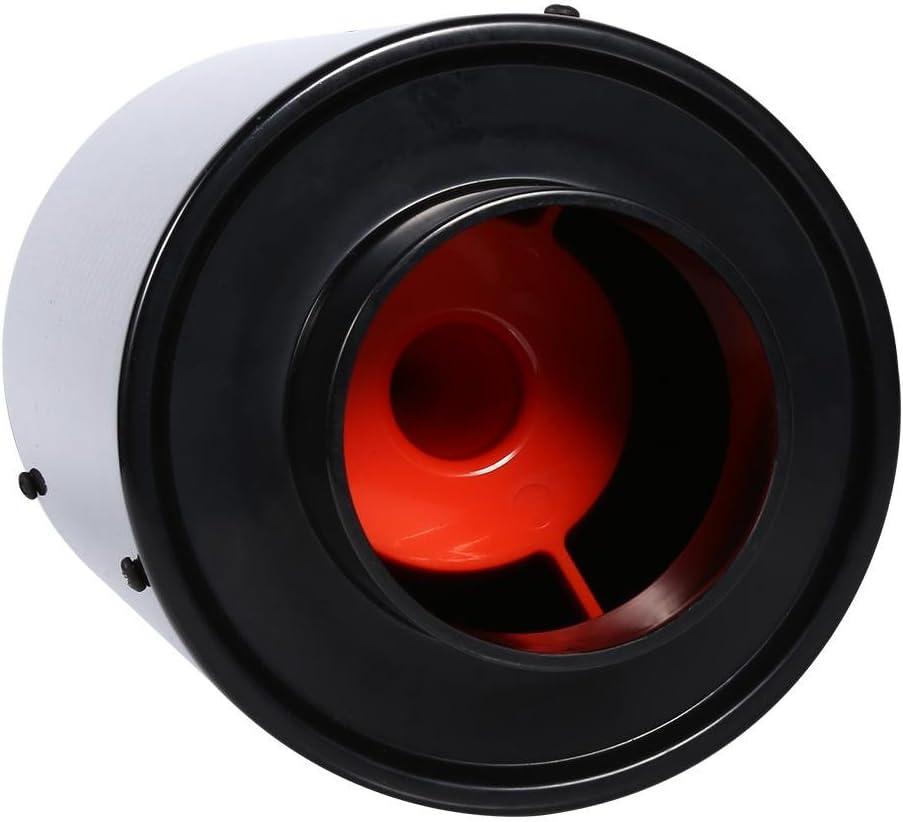 Filtre /à air froid universel en fibre de carbone pour moteur de voiture kit de tuyau d/'induction de ventilation ferm/é. soufflet d/'air /à haut d/ébit modifi/é pour voiture
