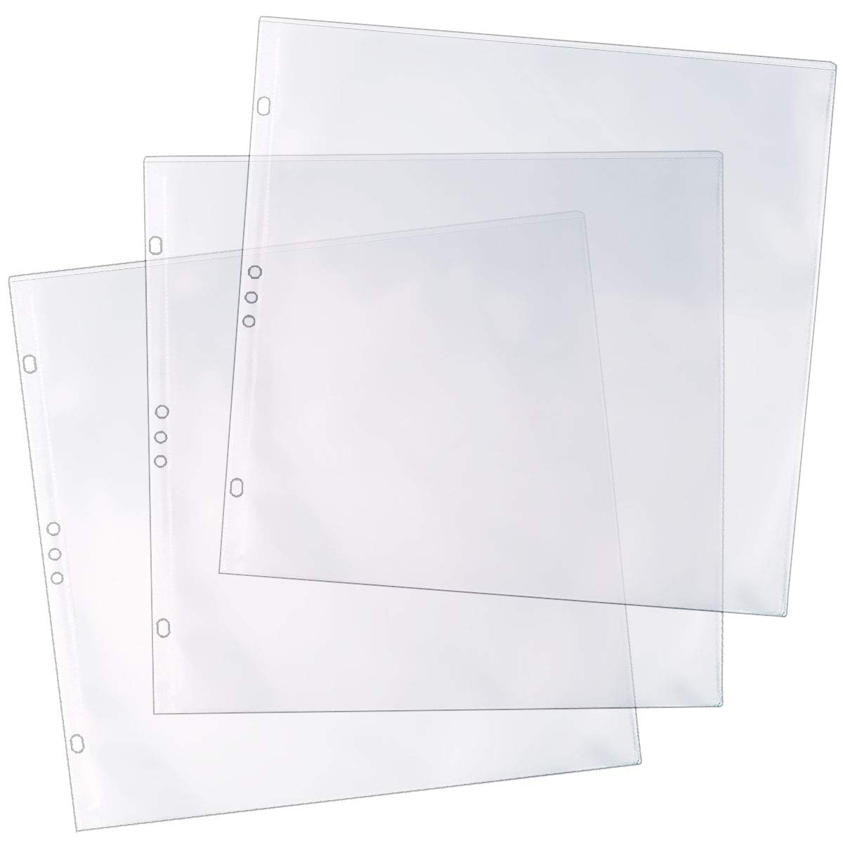 StoreSMART - 12'' x 12'' - Archival Album Refill Pages - 100-Pack - REF12-100 by STORE SMART