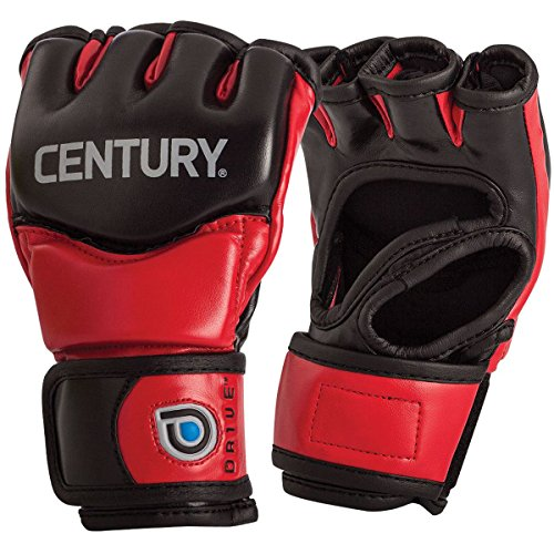 CENTURY DRIVE YOUTH FIGHT GLOVES RED/BLACK S/M