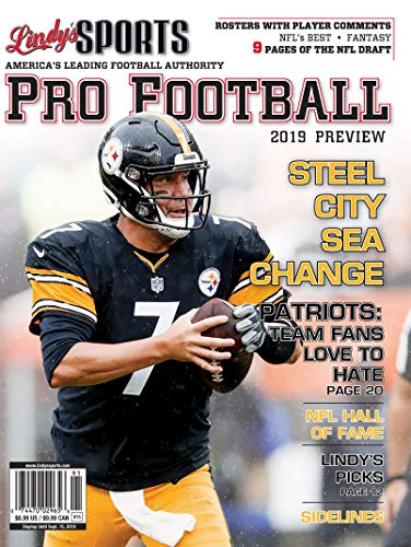 Pittsburgh Pro Football - Lindy's 2019 Pro Football Preview - Pittsburgh Steelers