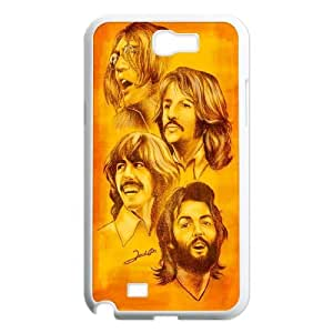 Popular band poster The Beatles Hard Plastic phone Case For Samsung Galaxy Note 2 Case FANS230452
