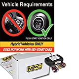 MPC Complete Add-on Remote Start Kit for 2010-2015 Toyota Prius - Hybrid - Uses Factory Remotes - Firmware Preloaded