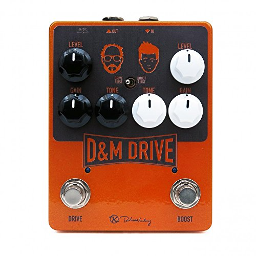 Drive Effects Pedal - Keeley D&M Drive Effects Pedal