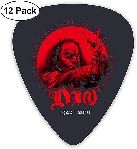 Púas de guitarra eléctrica Ronnie James Dio (paquete de 12) para ...