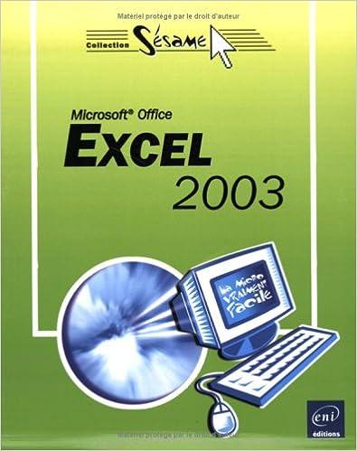 Livres gratuits à télécharger pour asp net Excel 2003 CHM