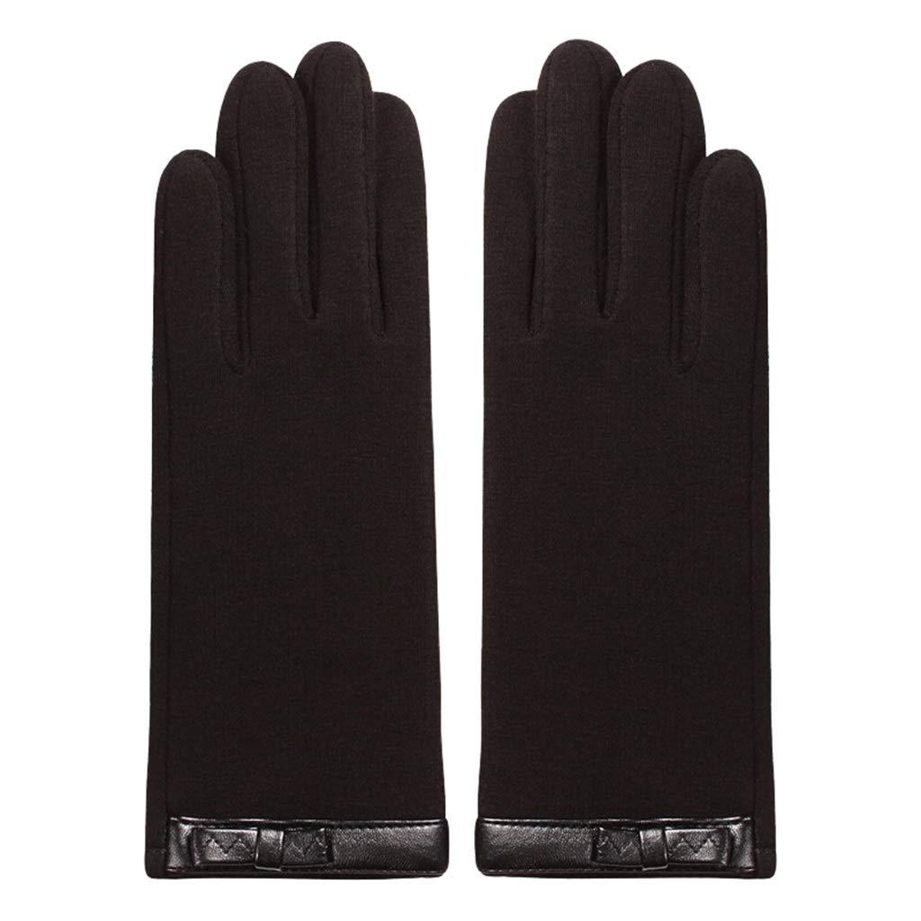 DSADDSD Handschuhe Damen Winter, Touchscreen Fahren Reiten Rutschfeste Damen Warme Handschuhe
