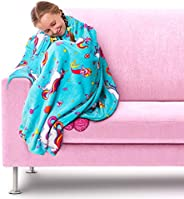 GirlZone: Plush Fleece Throw Blanket, Great Gift for Girls