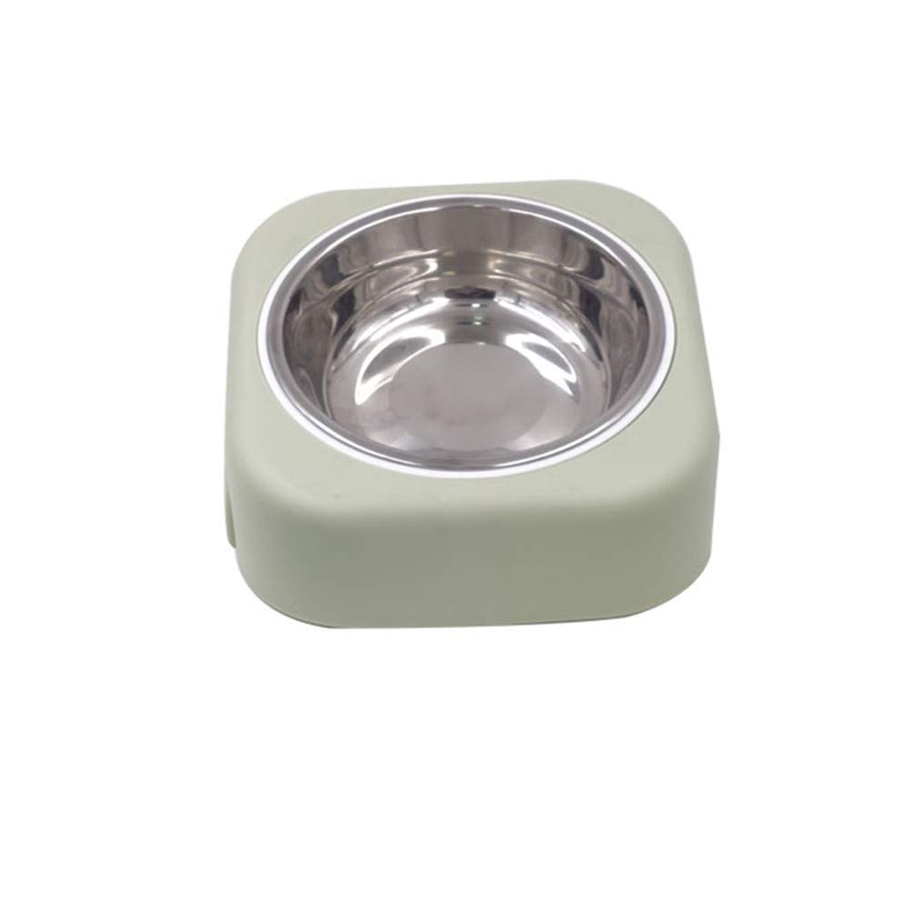 FOREVER-YOU Dog Bowl Dog Basin Dog Food Bowl cat Food Basin Stainless Steel Rice Basin Pet Supplies B