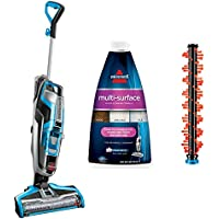 Bissell Crosswave Multi Surface Formula, 32oz Multi Surface Formula (with Area Rug Brush Roll+17859 All-in-One Multi-Surface Upright Vacuum)
