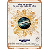 Wall-Color 9 x 12 METAL SIGN - 1971 Vanishing Point - Vintage Look Reproduction