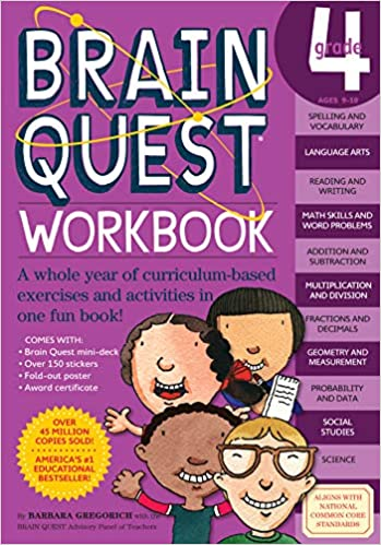 Brain Quest Workbook Grade 4 Gregorich Barbara 0019628150189 Amazon Com Books
