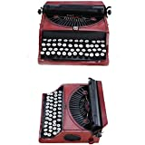 HKDJ-Vintage Nostalgia Portable Manual Typewriter