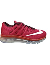 nike womens air max 2016 running trainers 806772 sneakers shoes (us 7.5, noble red whie pink blast 602)