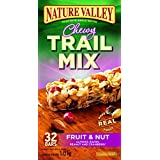 Nature Valley Fruit and Nut Chewy Trail Mix, 32-Count, 1120 Gram