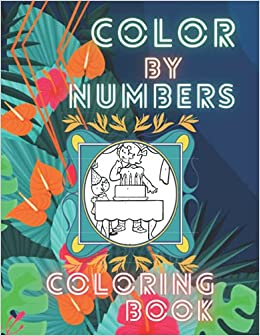 Amazon   Color By Numbers Coloring Book: Coloring Book ...