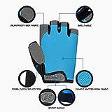 HuwaiH Cycling Gloves Men's/Women's Mountain Bike