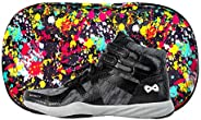 NFINITY Midnite Beast Mid Top Cheer Shoe and Case | Competition and Sideline
