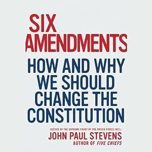 Six Amendments Audiobook
