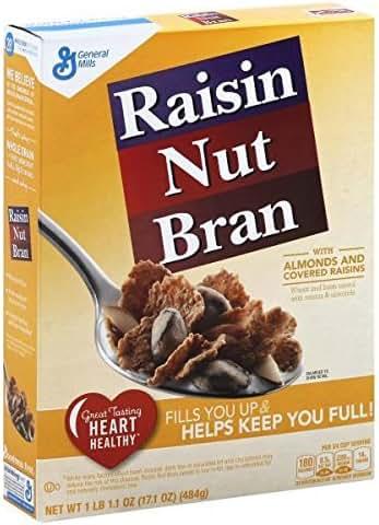 Breakfast Cereal: Raisin Nut Bran