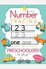 Number Tracing Book for Preschoolers and Kids Ages 3-5: Trace Numbers Practice Workbook for Pre K, Kindergarten and Kids Ages 3-5 (Math Activity Book) Spiral-bound