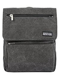 Kenneth Cole South Wind Canvas Backpack, Grey, International Carry-On