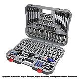 WORKPRO 164-piece Mechanics Tool Kit - Black