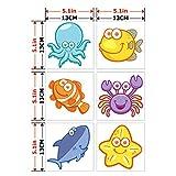 CoSopo Smiley Face Series Non Slip Bath Tub Tattoos Tub Stickers Tub Decals Tub Appliques