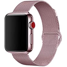 Penom Compatible with Apple Watch Band 44mm 40mm 42mm 38mm, iWatch Bands Milanese Loop Replacement for Series 4 3 2 1