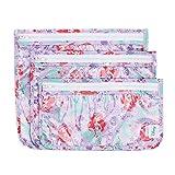 Bumkins Disney Baby Clear Travel Bag 3 Pack, Ariel