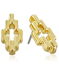 Foxy Originals Mossimo Earrings, Gold